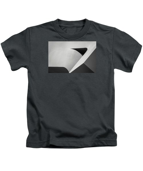 Abstract In Black And White Kids T-Shirt