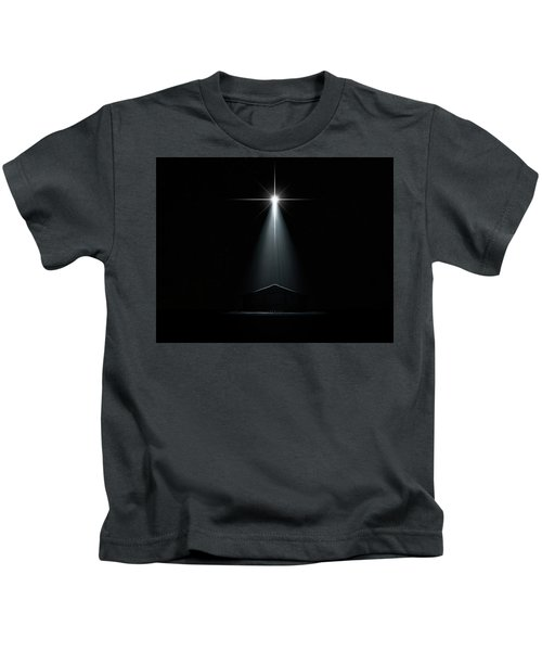 Abstract Nativity Scene Kids T-Shirt