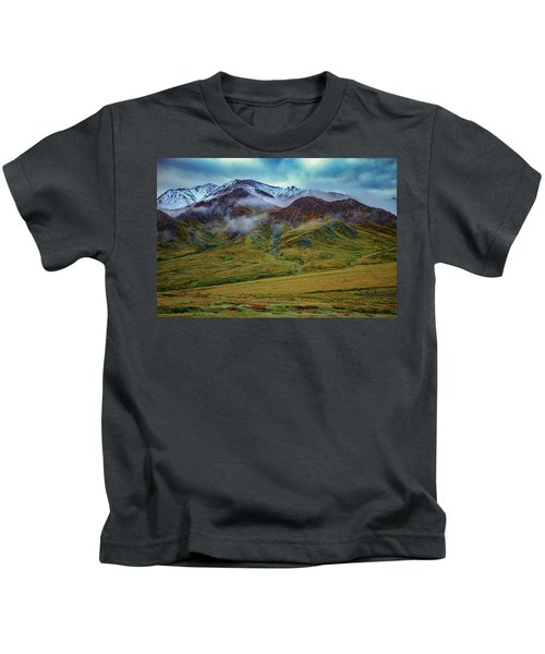 Alaskan Foothills Kids T-Shirt