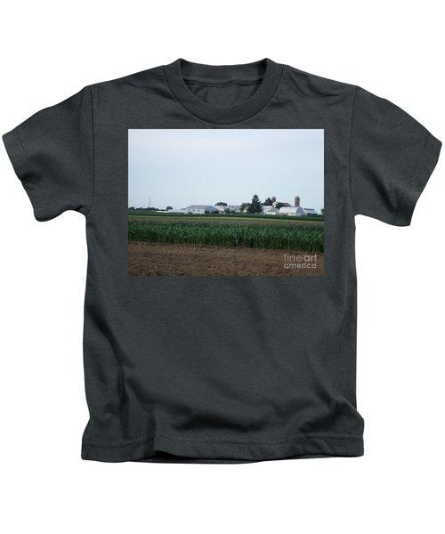 Amish Homestead 9 Kids T-Shirt