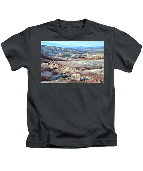 Bentonite Clay Dunes In Cathedral Valley Kids T-Shirt