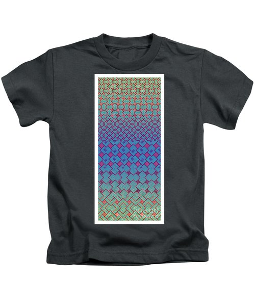 Bibi Khanum Ds Patterns No.3 Kids T-Shirt