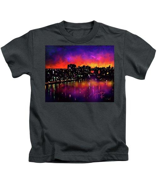 Biscayne Bay, Miami Kids T-Shirt