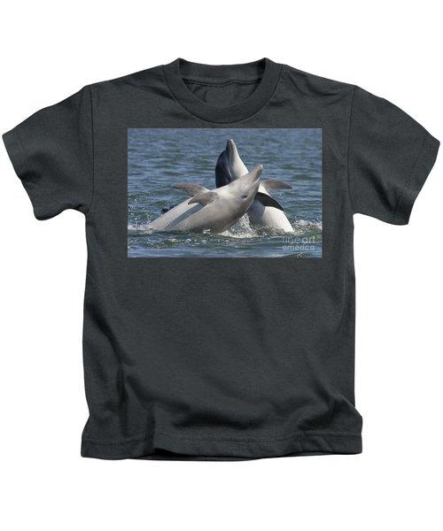 Bottlenose Dolphins  - Scotland  #15 Kids T-Shirt