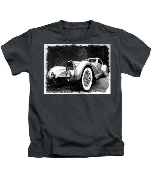 Bugatti Type 57 Aerolithe Kids T-Shirt