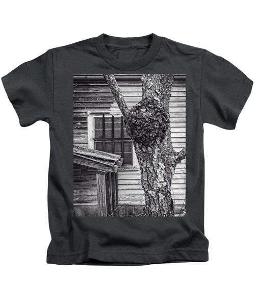 Burl And Window Kids T-Shirt
