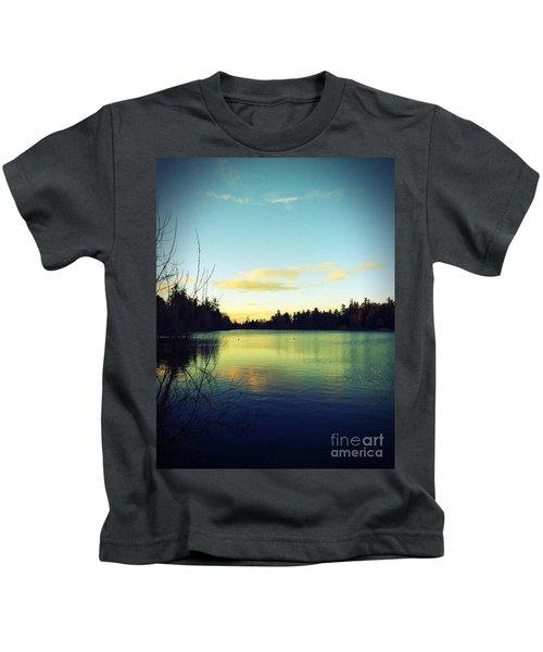 Center Of Peace Kids T-Shirt