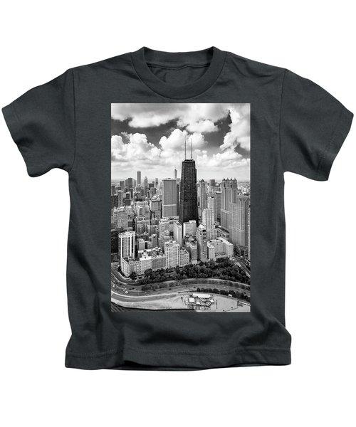 Chicago's Gold Coast Kids T-Shirt by Adam Romanowicz