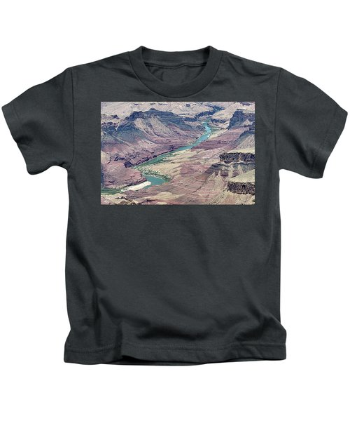 Colorado River In The Grand Canyon Kids T-Shirt