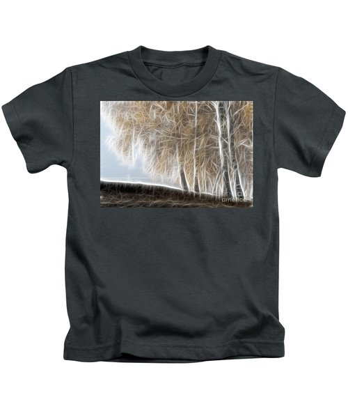 Colorful Misty Forest Kids T-Shirt
