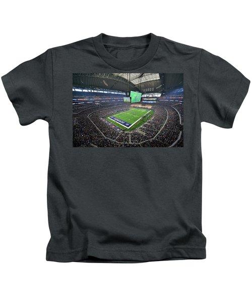 Dallas Cowboys Att Stadium Kids T-Shirt