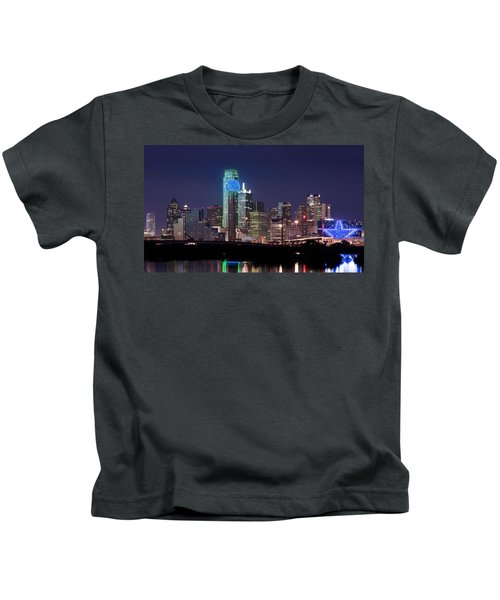 Dallas Skyline Cowboys Kids T-Shirt