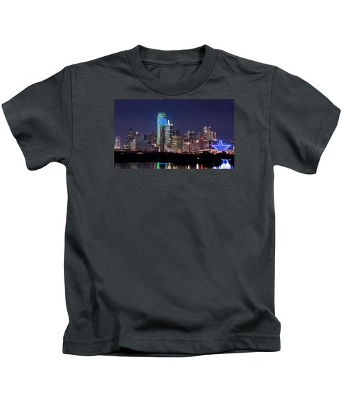 Dallas Skyline Cowboys Kids T-Shirt