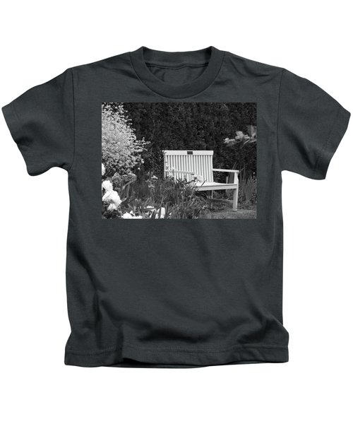 Desolate In The Garden Kids T-Shirt
