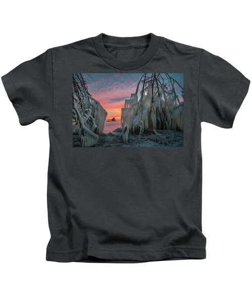 Distant Lighthouse Kids T-Shirt