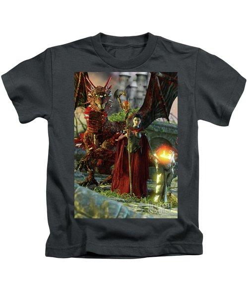 Dragon Queen Kids T-Shirt