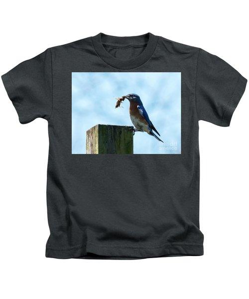 Eastern Bluebird Kids T-Shirt