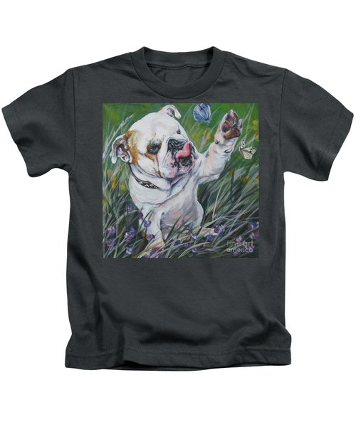 English Bulldog Kids T-Shirt