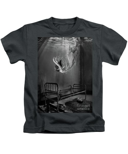 Falling To Sleep Kids T-Shirt