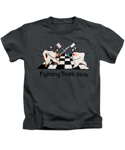 Fighting Tooth Decay Kids T-Shirt