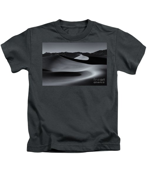 Follow The Curves Kids T-Shirt by Mike Dawson