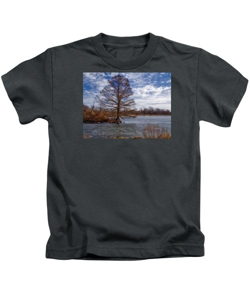 Frozen Lake Kids T-Shirt