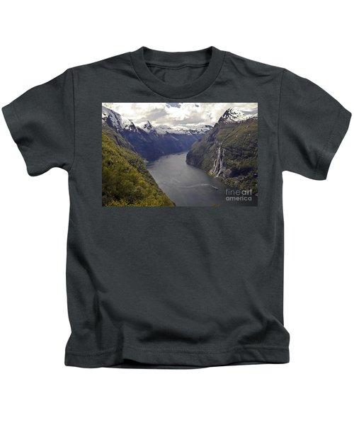 Geiranger Fjord Kids T-Shirt