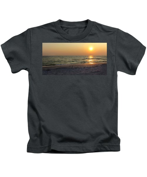 Golden Setting Sun Kids T-Shirt