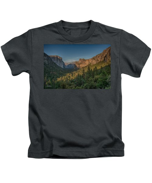 Golden Yosemite Kids T-Shirt