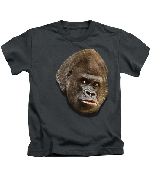 Gorilla Kids T-Shirt by Ericamaxine Price