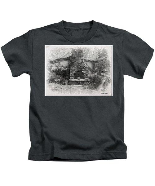 Green Dragon Inn Illustration Kids T-Shirt