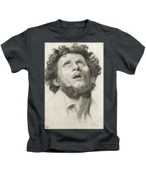 Head Of A Man Kids T-Shirt