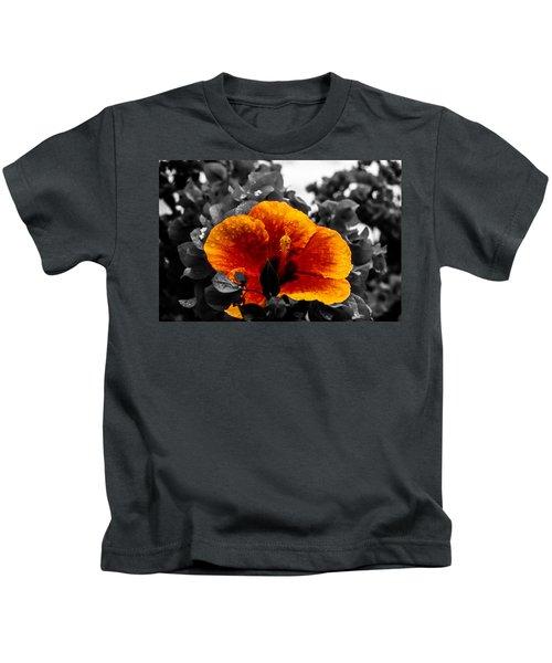 Hibiscus Beauty Kids T-Shirt