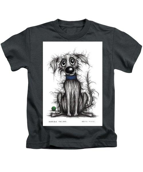 Horrible The Dog Kids T-Shirt
