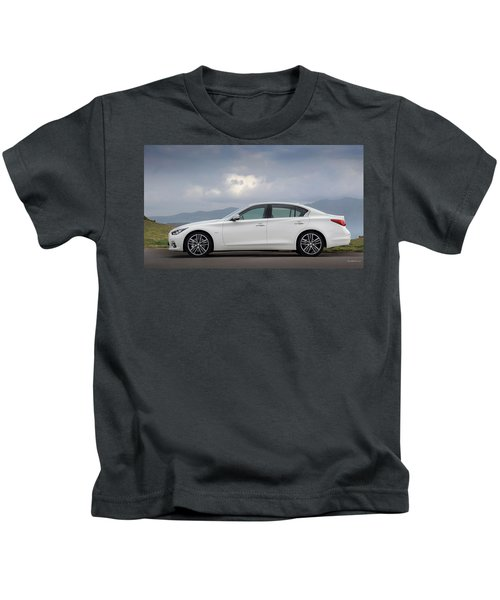 Infiniti Q50 Kids T-Shirt