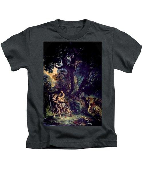Jacob Wrestling The Angel Kids T-Shirt