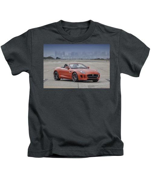 Jaguar F-type Convertible Kids T-Shirt