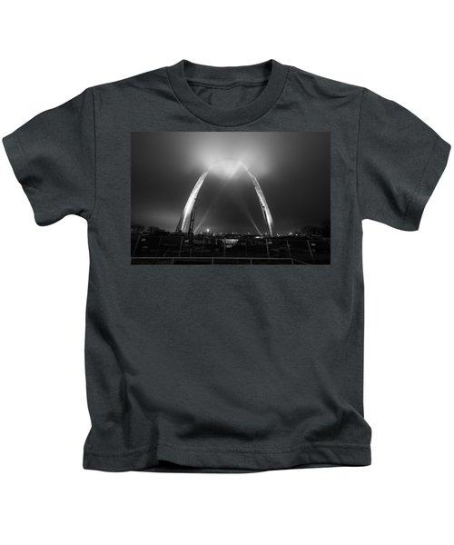 Jefferson Expansion Memorial Gateway Arch Kids T-Shirt