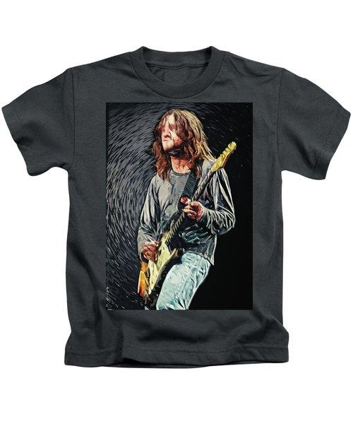 John Frusciante Kids T-Shirt by Taylan Apukovska