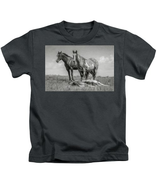 Keeping Watch Kids T-Shirt
