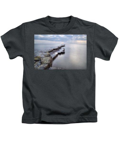 Kimmeridge Bay - England Kids T-Shirt
