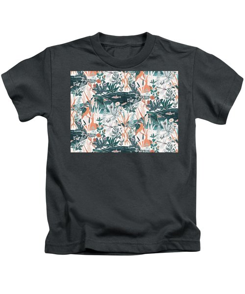 Kingfisher Kids T-Shirt by Jacqueline Colley