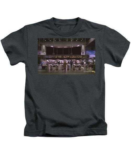 Kyoto Train Station, Japan Kids T-Shirt