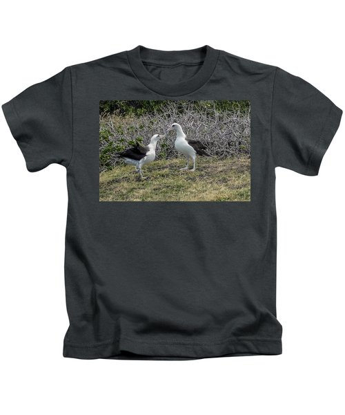 Laysan Albatross Hawaii #2 Kids T-Shirt