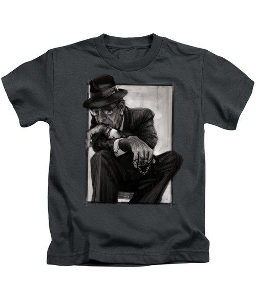 Leonard Cohen Kids T-Shirt