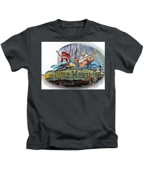Little Mermaid Signage Mp Kids T-Shirt