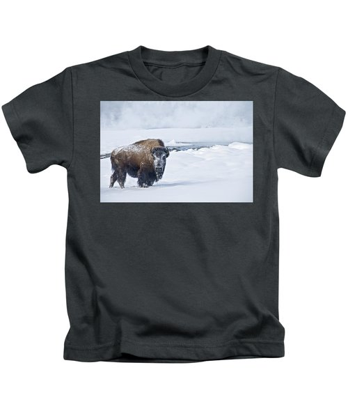 Lone Bison Kids T-Shirt