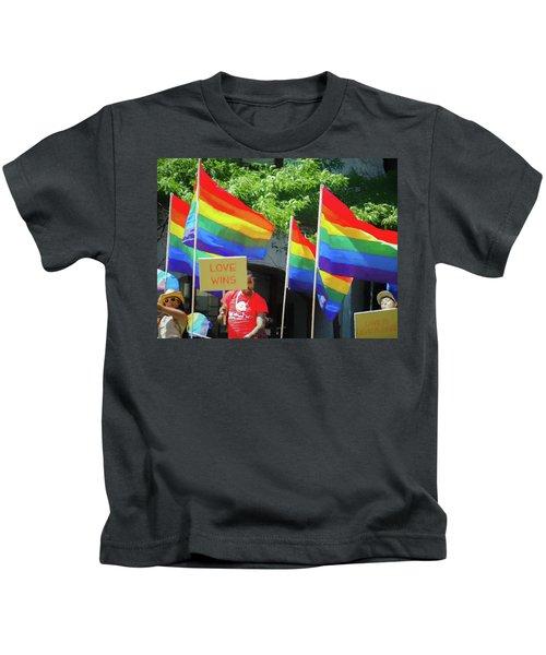 Love Wins Kids T-Shirt