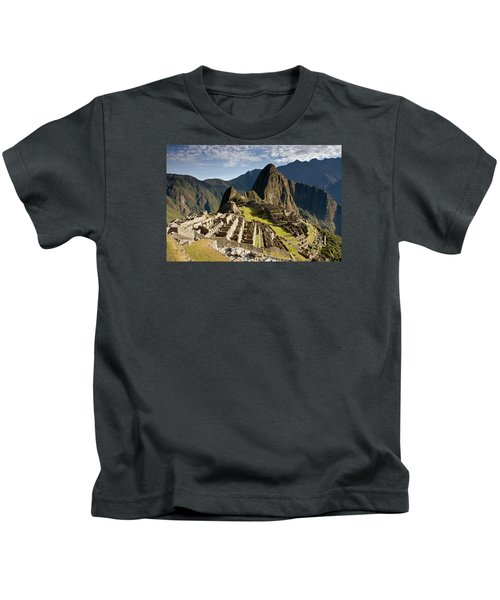 Machu Picchu Inca Ruins Kids T-Shirt