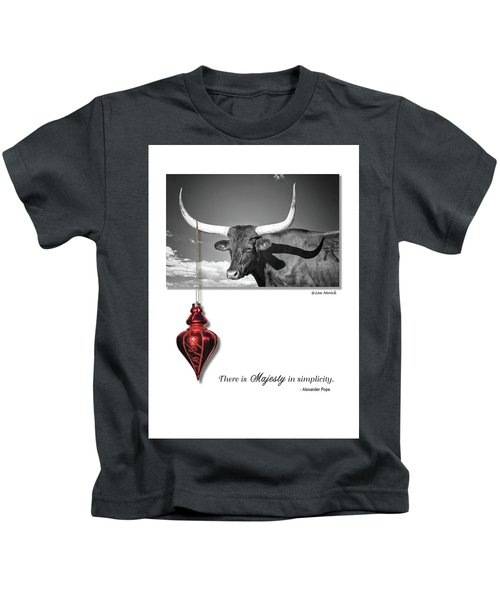 Majesty In Simplicity Kids T-Shirt